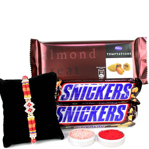 Rakhi and chocolates